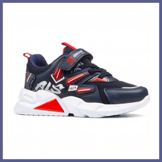 PATIKE ALESSIO - NAVY/RED